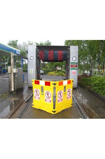 Addgards Handigard 3-panel Red/White Safety Barrier