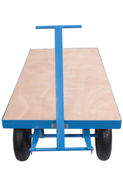 1000kg Site Solid Wheel Trolley