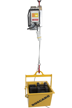 500kg Electric Wire Hoist with Remote Control (20mtr, 30mtr, 60mtr & 120mtr)