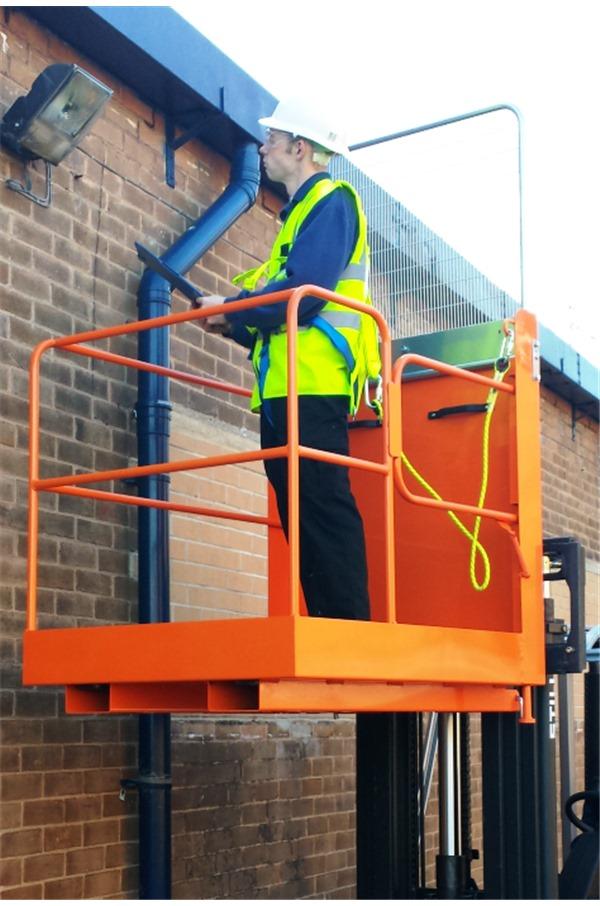 IAP-7 Forklift Access Platform (Side Gate access) | IAP-7-RS ...