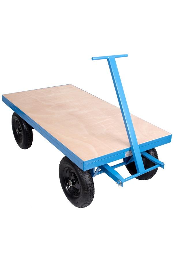 site trolley heavy duty 1 tonne capacity pneumatic tyres cheeko3 p