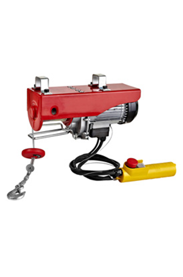 Electric Wire Rope Hoist 125kg, 240volt x 18mtr HOL | WRH-YT125-250 ...
