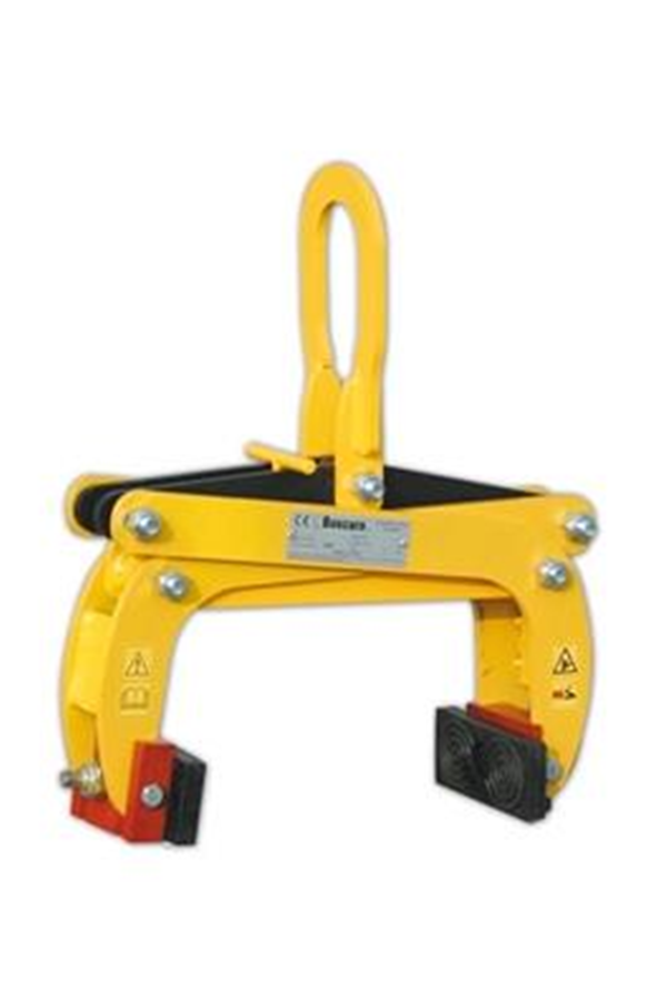 1000kg Kerb Grab With Rotating Rubber Coated Plates Pzm