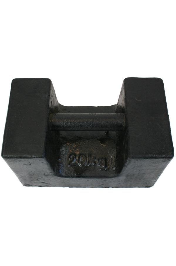 Test Weight 20kg 20kg Test Weight Safetyliftingear