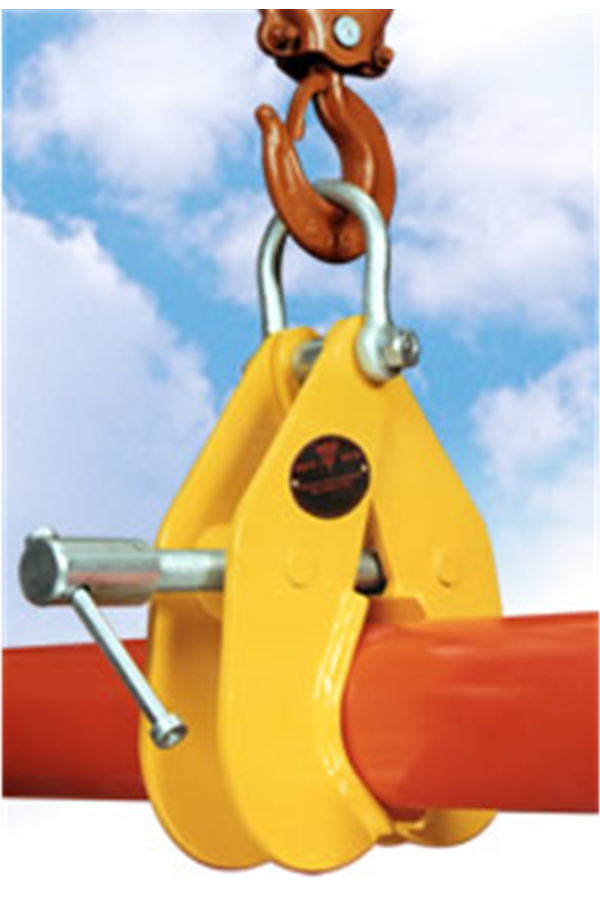 Superclamp kg pipe lifting clamp mm rsc p rs
