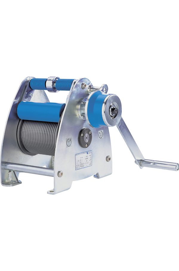 Pfaff SW-K Lambda Small Wire Rope Winch BGV C1 Conformance
