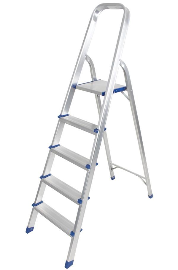 aluminium step ladder. Aluminium Foldable Step Ladder 5 Tread