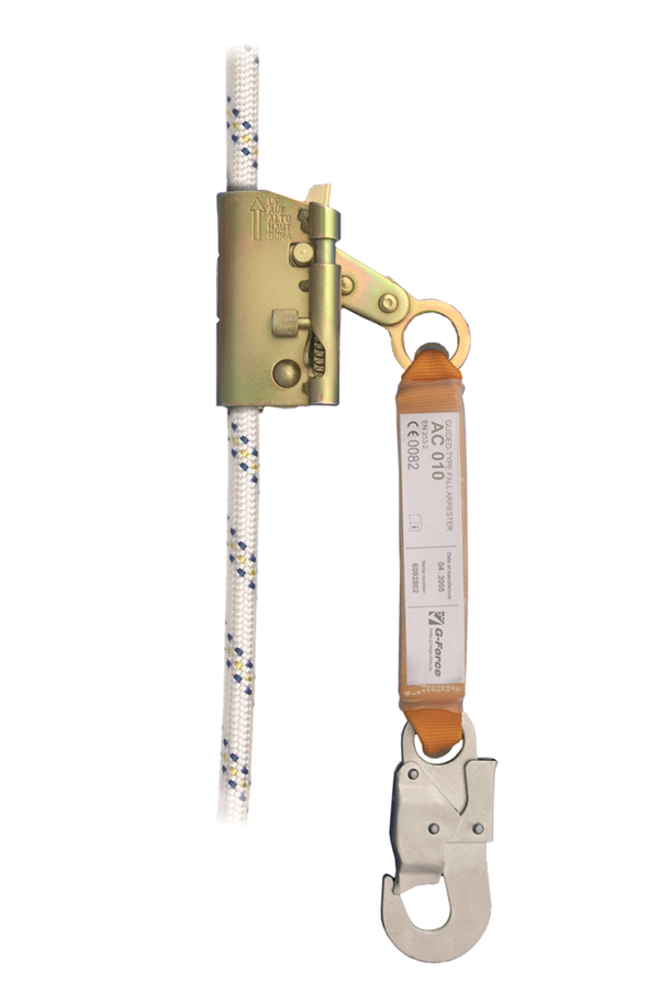 ac010 guided fall arrester for 14mm rope