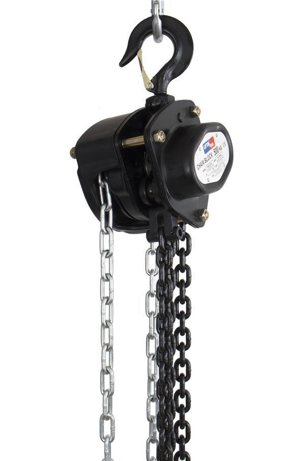Chain Block Hoist 500 Kg 3mtr To 30mtrs Cb0 5x