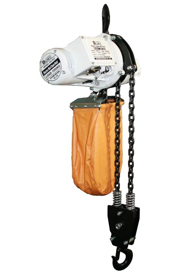 Electric hoist 1 tonne, 110 volt