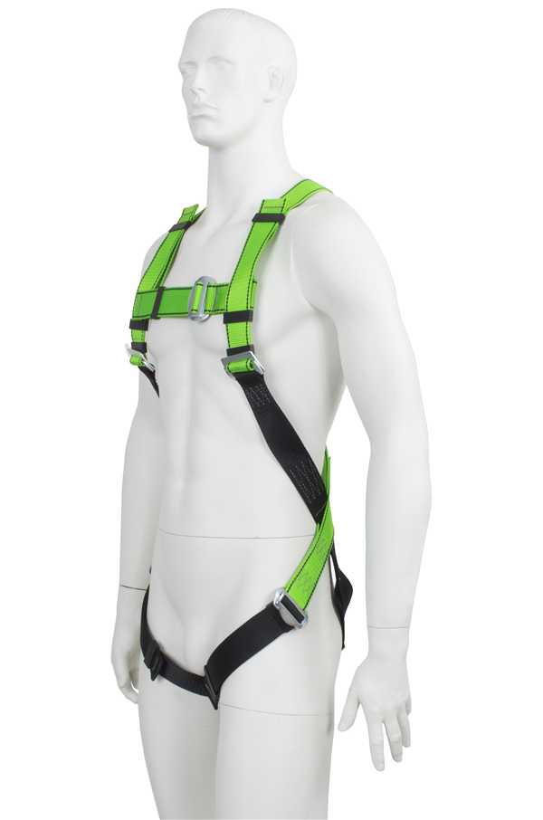 fall arrest harness with rear dorsal attachment gfp 10