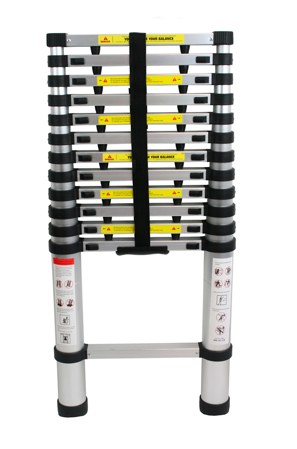 Aluminum Telescopic Ladder : Telescopic ladder aluminium aldd safetyliftingear