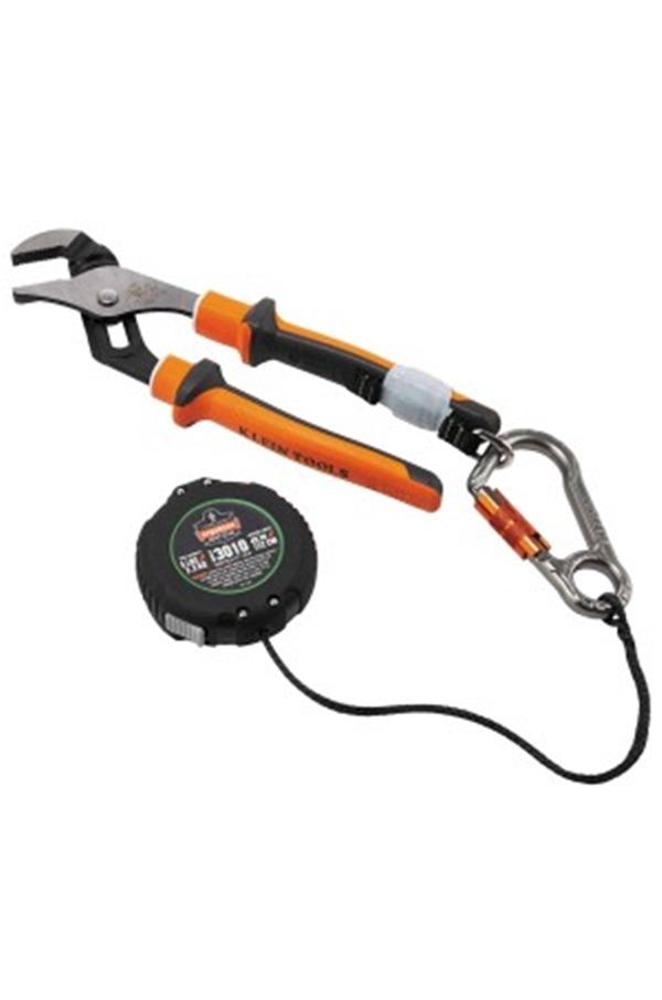 Ergodyne SQUIDS 3010 Retractable Tool Lanyard Single Carabiner