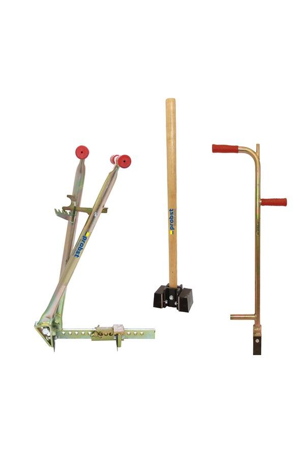 Paver Set Block Extractor Alignment Bar Rubber Hammer