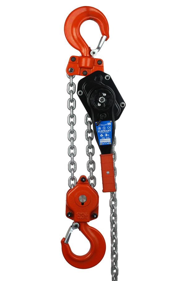 Lever Hoist 6300kg By Elephant Japan Lh Ya Ele 6 3t