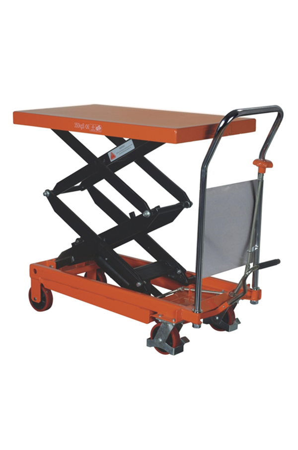 Double Vertical Scissor Lift Hydraulic Platform Table