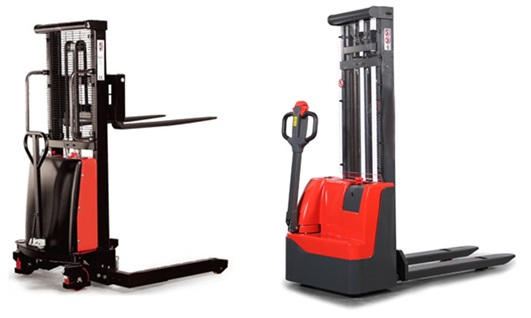 Electric Stacker Trucks: 2 New Additions to Our Range