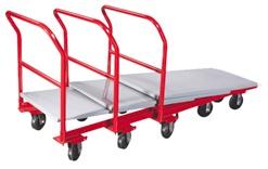 Steel Nesting Platform Trucks