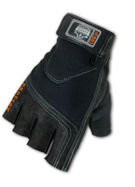 Защитные перчатки с полупальцами