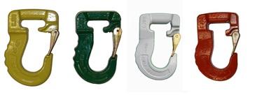 Hooks for lifting slings