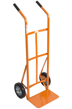 sack truck with solid tyres
