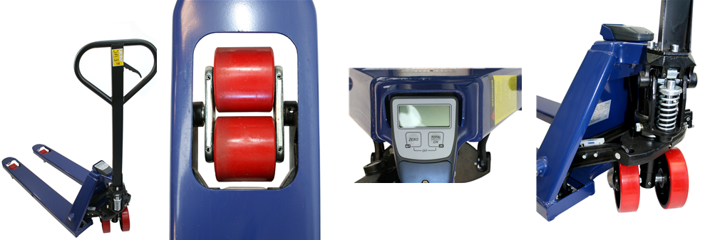 Pallet Truck with Load Indicator