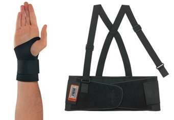 Back and Wrist Supports
