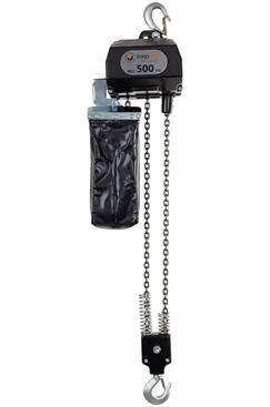 Battery powered electric chain hoist