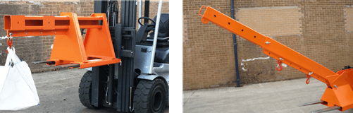 fork extensions, forklift attachments