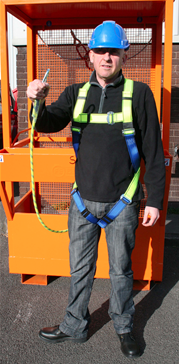 front saftey harness
