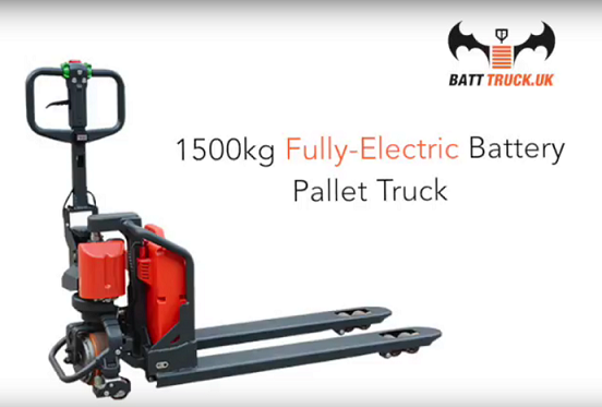 Fully Electric Battery Powered Pallet Truck