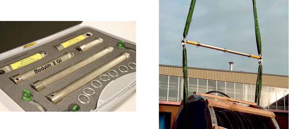 modulift qj2 portable spreader beam