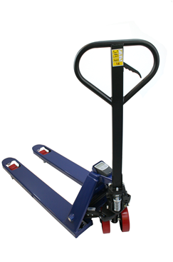 Warehouse pallet truck