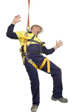 saftey harness fall
