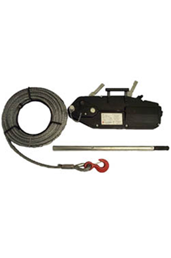 rope winch hire