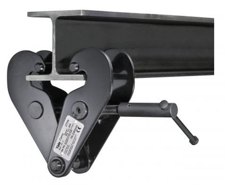 beam clamps, yale beam clamps